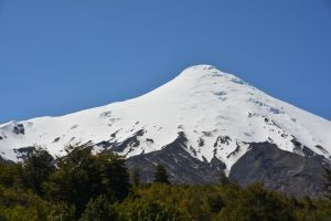 Volcán Osorno 2652 m.ü.M.