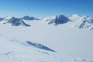 Gletscher soweit das Auge reicht