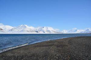 Küste vor Longyearbyen