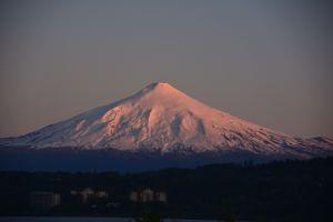 Volcán Villarrica, 2847 m.ü.M.
