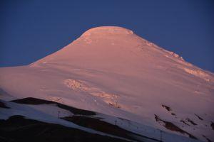 Volcán Osorno, 2652 m.ü.M. im Abendlicht