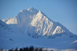 Berg beim Steinfjellet