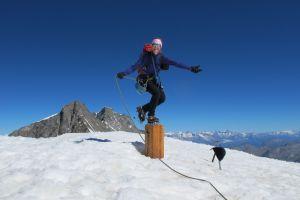 Alphubel Gipfelkreuz