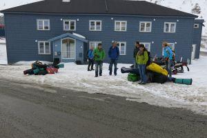 Ankunft in Longyearbyen