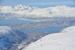 Tromsdalstinden 1238 m