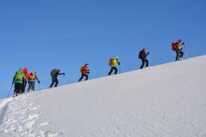 Aufstieg zum Fagerfjellet