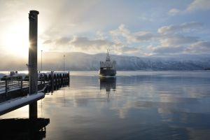 Fähre nach Olderdalen