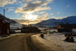 Heiwäg in Longyearbyen, 03.00 Uhr