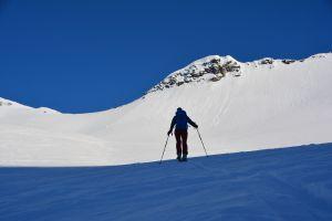 im Aufstieg zum Litlemoa 839 m
