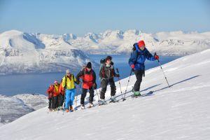 Aufstieg zum Steinfjellet